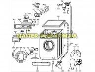 Ручка таймера Whirlpool 481941258611 для стиральной машины