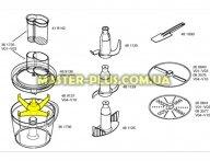 Держатель дисков кухонного комбайна Bosch 489137