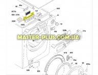 Модуль (плата) индикации Candy 49010292 для стиральной машины