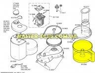 Чаша кухоного комбайна Bosch 492020 для кухонного комбайна