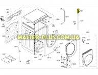 Замок (УБЛ) Bosch 496821 для стиральной машины