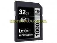 Карта памяти Lexar 32GB SDHC class 10 UHS-II U3 4K (LSD32GCRBEU1000)