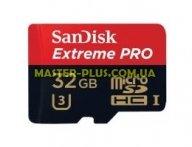 Карта памяти SANDISK 32GB microSDHC Class 10 UHS-I U3 (SDSDQXP-032G-G46A)