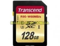 Карта памяти Transcend 128Gb SDXC class 10 UHS-I U3 (TS128GSDU3)