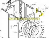 Ручка дверки (люка) Electrolux 50276640005 для стиральной машины