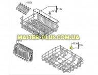 Комплект роликов (колес) корзины для посудомоечной машины Electrolux 50286965004 для посудомоечной машины