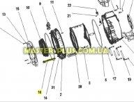 Тен  Zanussi 50294455006 для стиральной машины