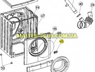 Замок (УБЛ) Zanussi 50294466003 для стиральной машины