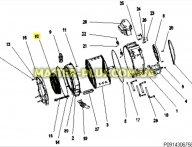 Резина (Манжет) люка Electrolux Zanussi AEG 50294537001 для стиральной машины