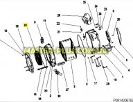 Резина (Манжет) люка Electrolux Zanussi AEG 50294537001
