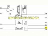 Колесо ступицы для щетки пылесоса Electrolux 50297086006