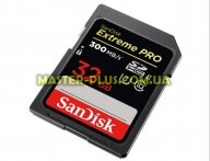 Карта памяти SANDISK 32GB SDHC class 10 UHS-I U3 (SDSDXPK-032G-GN4IN)