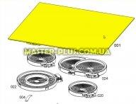 Стеклокерамическая поверхность плиты Electrolux 5617348114