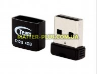 USB флеш накопитель Team 4GB C12G Black USB 2.0 (TC12G4GB01) для компьютера