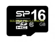 Карта памяти Silicon Power 16Gb microSDHC UHS-I class 10 (SP016GBSTHBU1V10SP)