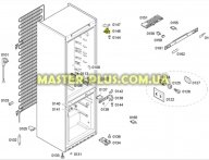 Завес двери холодильной камеры (верхний) Bosch 607657