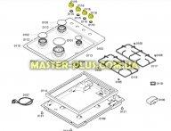 Ручка включения комфорки для Плиты Bosch Siemens 612707