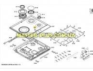 Ручки регулировки комфорок для Плиты Bosch Siemens 616100 для плиты