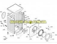 Замок (УБЛ) Bosch 616876 для стиральной машины