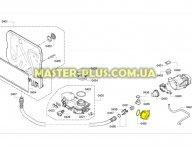 Насос (помпа) для посудомойки Bosch 620774 для посудомоечной машины