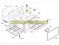 Крышка для лампочки освещения духового шкафа Bosch 647309 для плиты