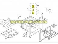 Лампа в сборе для духовки Bosch 650242 для плиты
