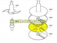 Диск (терка) для кухонного комбайна Bosch 650963 для кухонного комбайна