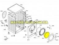 Стекло дверки (люка) Bosch 00662133