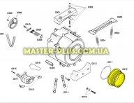 Резина (манжет) люка Bosch 667220 для стиральной машины