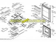 Крышка полки зоны свежести Bosch 680979 для холодильника