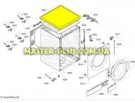 Крышка Bosch 684051 для стиральной машины