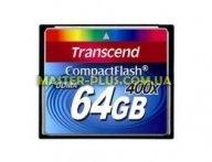Карта памяти Transcend 64Gb Compact Flash 400x (TS64GCF400) для компьютера