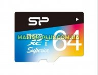 Карта памяти Silicon Power 64GB microSD class10 UHS-I Superior COLOR (SP064GBSTXDU1V20SP)