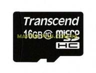 Карта памяти Transcend 16Gb microSDHC class 10 (TS16GUSDC10) для компьютера
