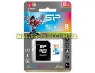 Карта памяти Silicon Power 8GB microSD class10 UHS-I Elite COLOR (SP008GBSTHBU1V20SP) для компьютера
