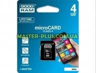 Карта памяти GOODRAM 4GB microSD Class 4 (M40A-0040R11)