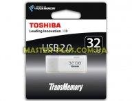 USB флеш накопитель TOSHIBA 32GB TransMemory USB 2.0 (THNU32HAYWHT(6) для компьютера