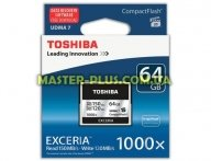 Карта памяти TOSHIBA 64GB Compact Flash 1000X (CF-064GTGI(8)