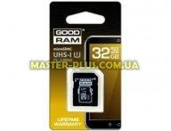 Карта памяти GOODRAM 32GB microSDHC Class 10 (M1AA-0320R11)