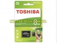 Карта памяти TOSHIBA 8GB microSDHC class 4 (THN-M102K0080M2) для компьютера