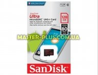 Карта памяти SANDISK 128GB microSDXC class 10 UHS-I Ultra (SDSQUNC-128G-GN3MN)