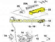 Модуль (плата) Zanussi 973913202051022 для стиральной машины