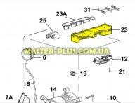 Модуль (плата управления) Electrolux 973913208311008 для стиральной машины