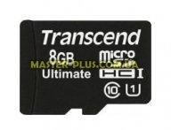 Карта памяти Transcend 8Gb microSDHC Class 10 UHS-I Ultimate 600x (TS8GUSDHC10U1) для компьютера