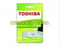 USB флеш накопитель TOSHIBA 16GB U202 White USB 2.0 (THN-U202W0160E4) для компьютера