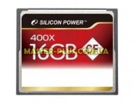 Карта памяти Silicon Power 16Gb Compact Flash 400x (SP016GBCFC400V10) для компьютера