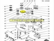 Электрическая конфорка 18 см для Плиты Indesit C00034308