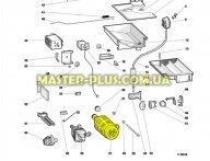 Мотор Indesit C00034685