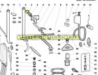 Верхняя направляющая для лотка Indesit Ariston C00054925
