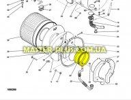 Резина (манжет) люка Indesit Ariston C00056743